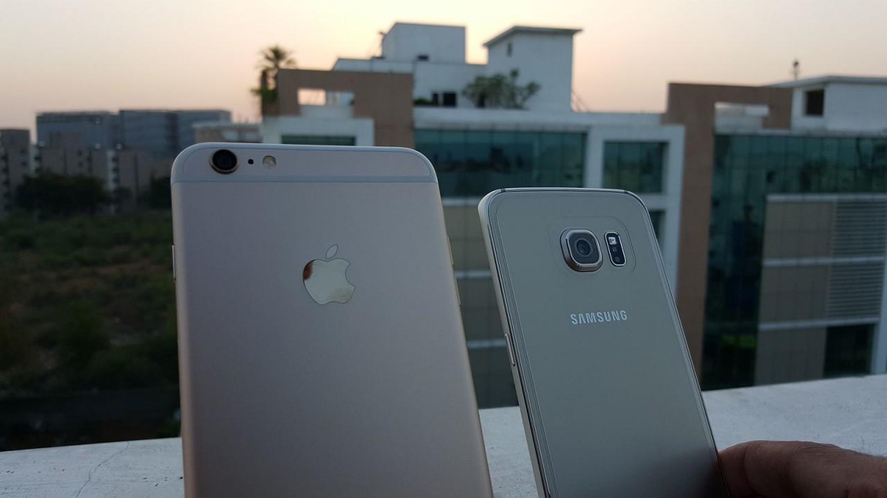 10 фишек, по которым Samsung Galaxy S6 превосходит iPhone 6