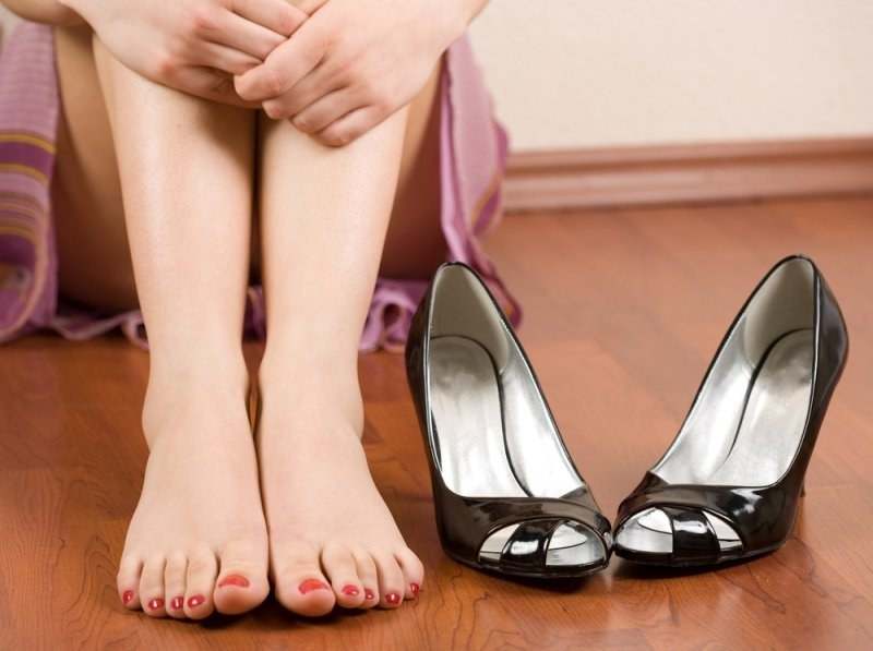 туфли натерли ноги