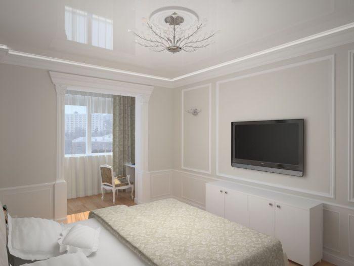 Дизайн совмещения комнаты с лоджией