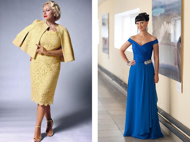 Платья 2015 для женщин 40 лет