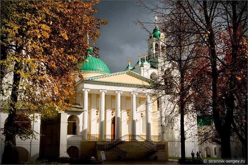 Спасо-Преображенский монастырь в Ярославле - прогулка - фото