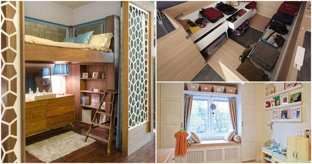Встроенная мебель: реальная возможность экономии пространства