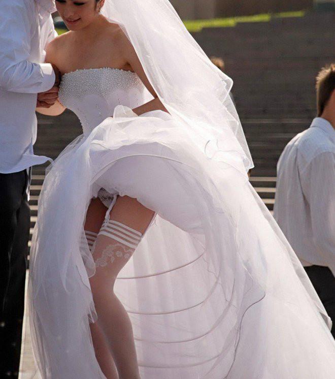 Свадебные трусики невесты