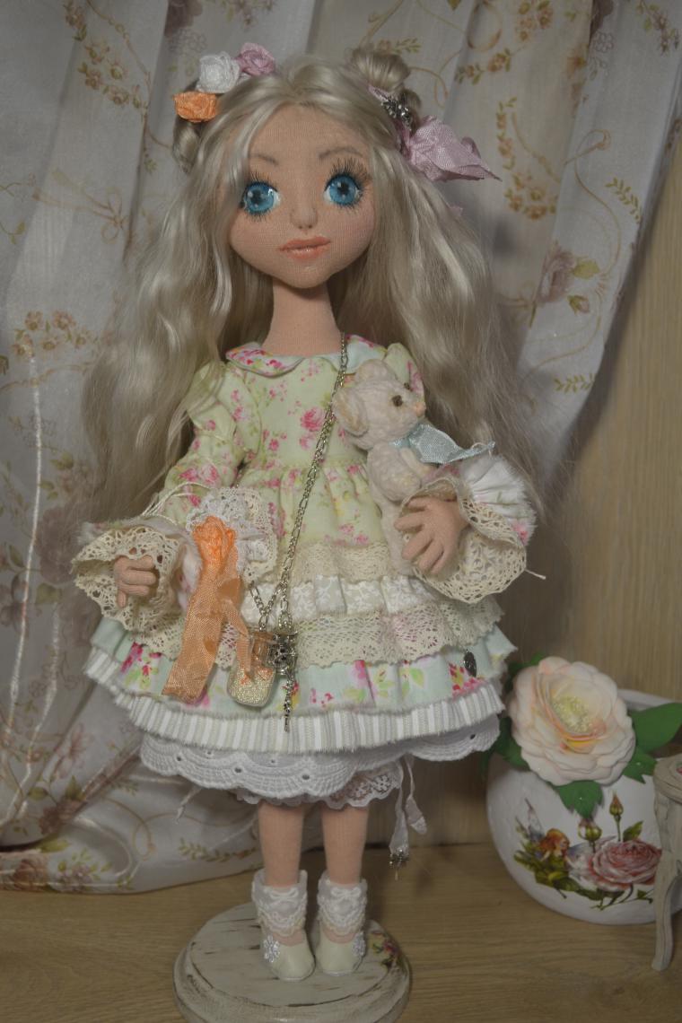 Объемная кукла мастер класс
