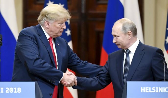 Путин поставил наглеца Трамп…