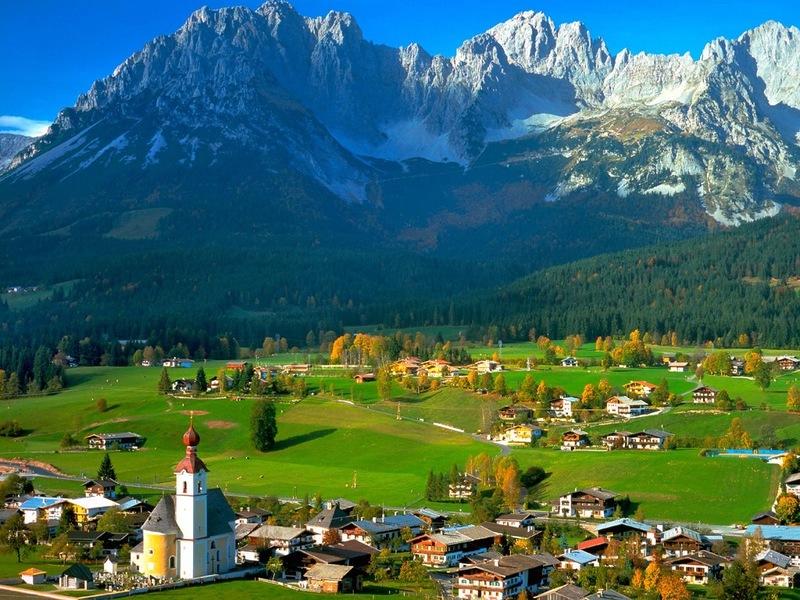 Восхитительный Тироль, Австрия