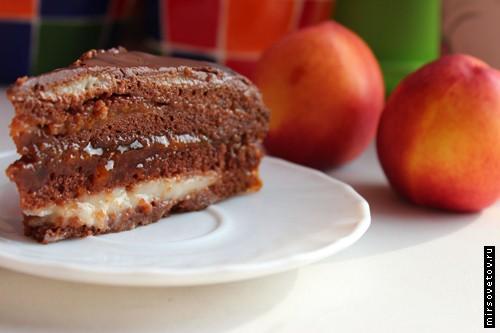 Постный торт, рецепт с фото