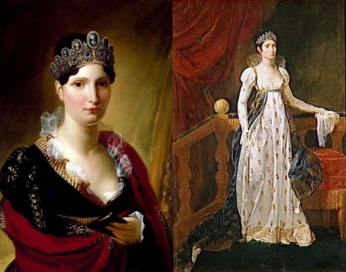 Сестра Наполеона Элиза Бонапарт