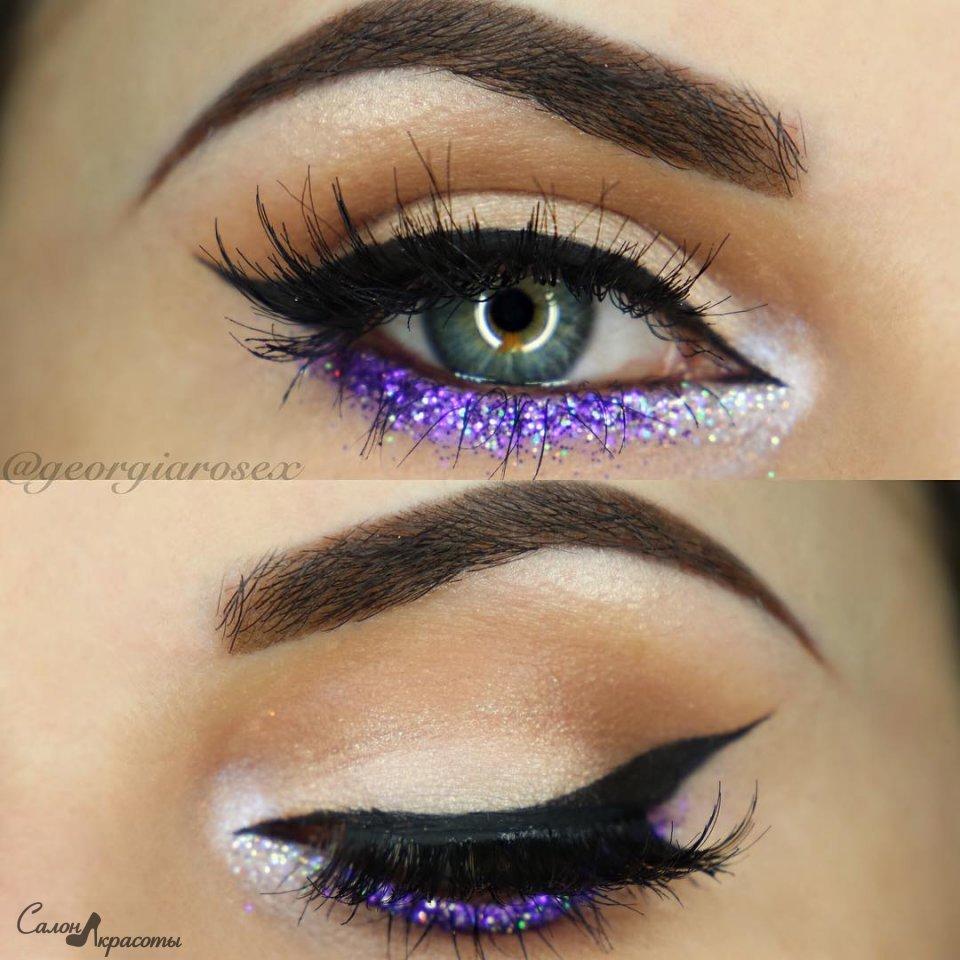 Разнообразные идея макияжа для любого цвета глаз