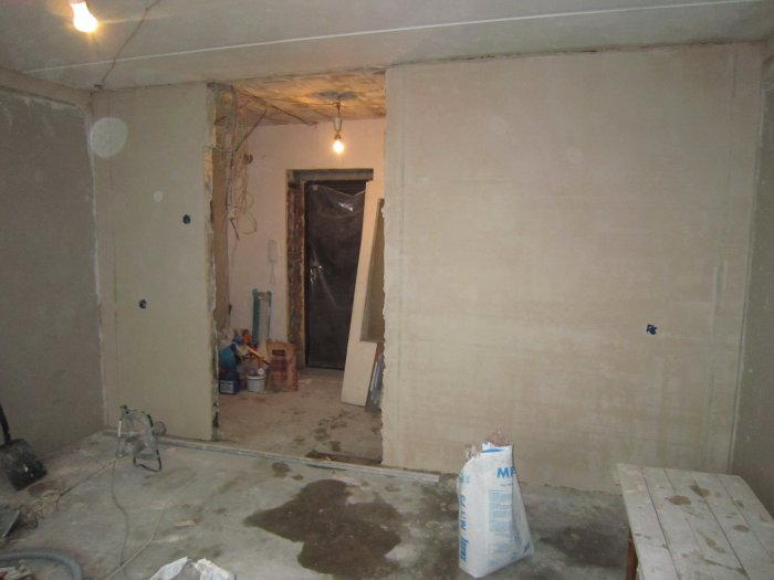 Фотоотчет ремонта дома