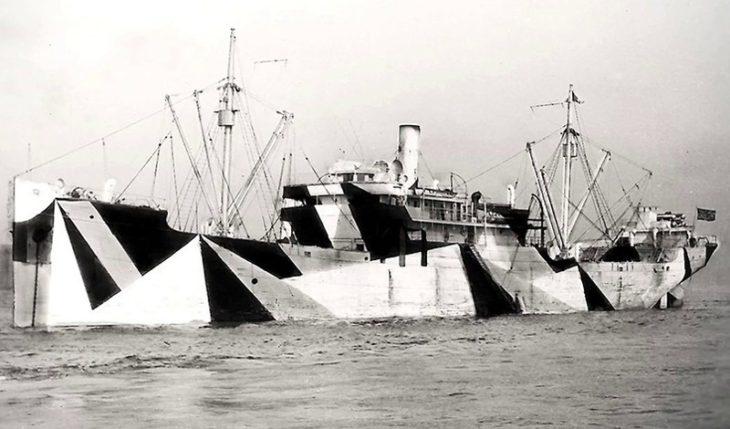 Ослепляющий камуфляж кораблей
