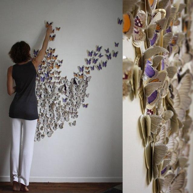 Как модно украсить стену
