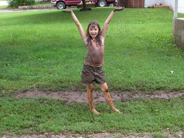 Детские шалости в 9-10 лет