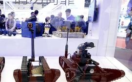 Китай создаёт боевых роботов…
