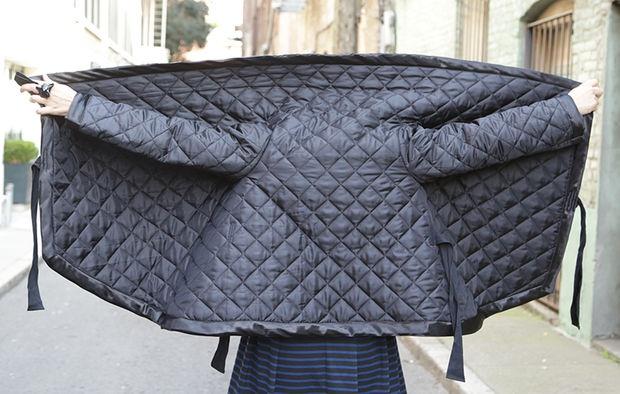 Как сшить куртку из стеганой ткани 124