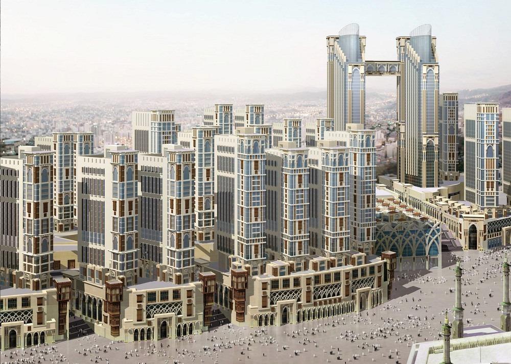 В священной Мекке строят отели-небоскребы