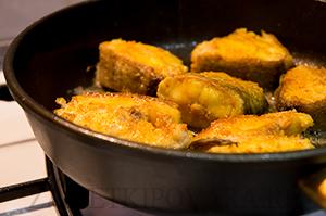 Рыба в кокосовом молоке по-доминикански.