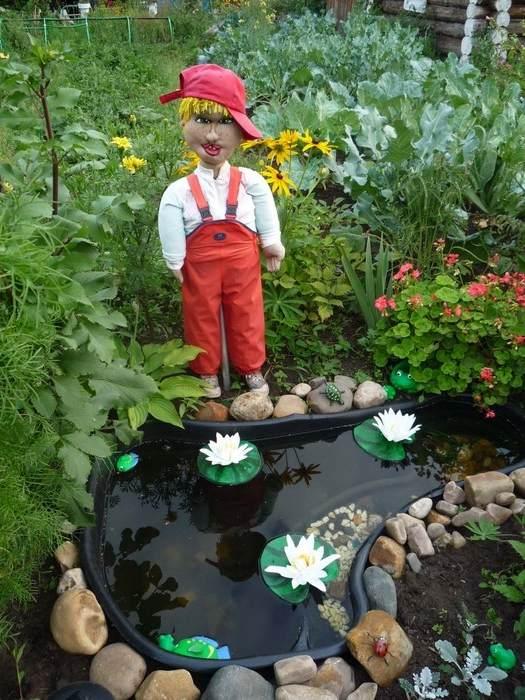 Сад и огород своими руками из пластиковых бутылок
