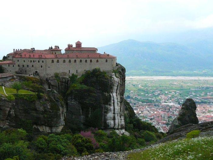 Фото Монастыри Метеоры, Греция. 28 (700x525, 64Kb)