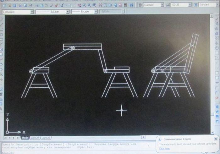 Скамейка трансформер своими руками чертежи фото