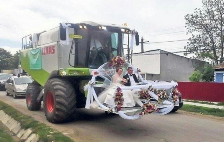 Вместо свадебного лимузина