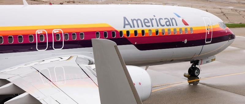 Еще один самолет в ретро-лив…