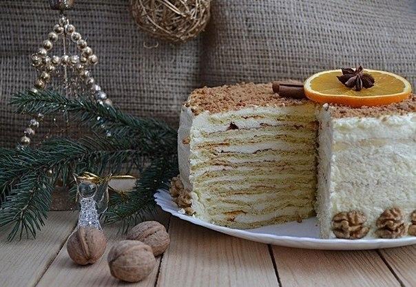 """Нежный творожный торт """"Семейный"""""""
