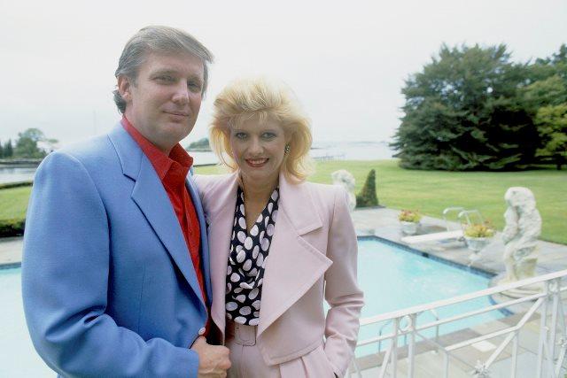 Дональд Трамп в августе 1987 года