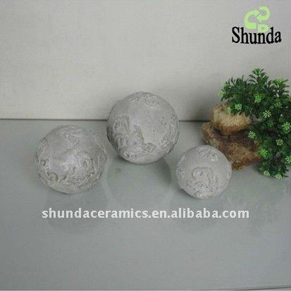 Декоративные шары из цемента для сада. Идеи и мастер-класс (25) (413x413, 29Kb)