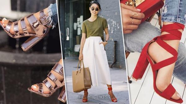 5 ультра-модных образов с высоким каблуком. Не только красиво, но и комфортно