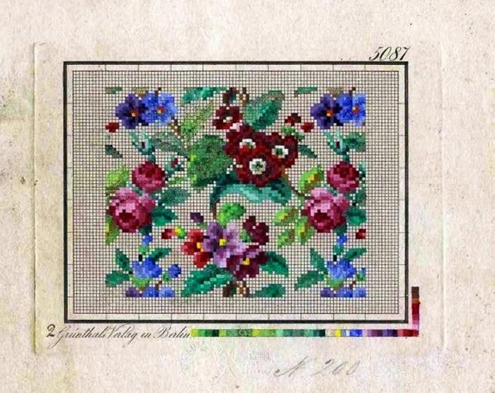 Схемы вышивки крестом старинные