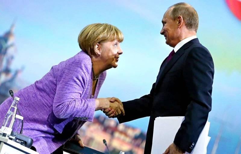 Меркель довели до союза с Россией
