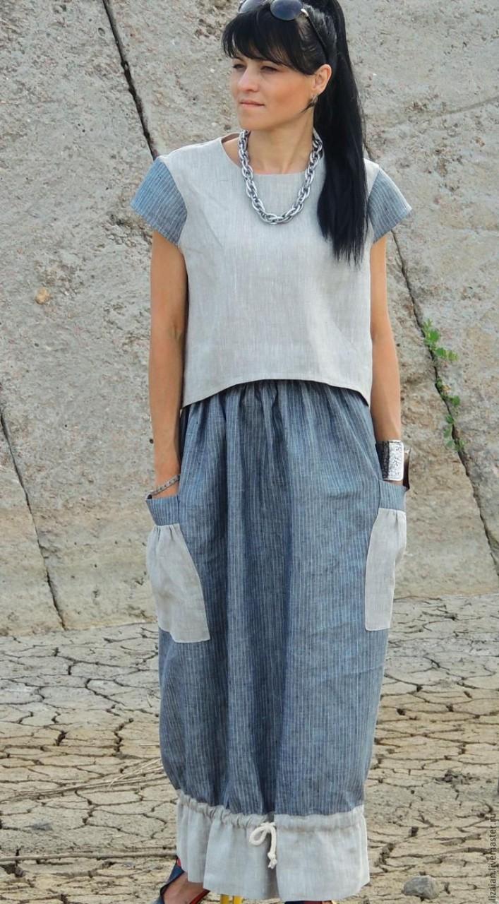 Шьем юбку в стиле «офисный бохо»