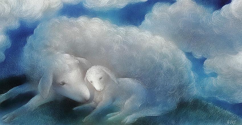 Волшебные краски, мягкие линии - сказка! Художник-иллюстратор Леонид Гор