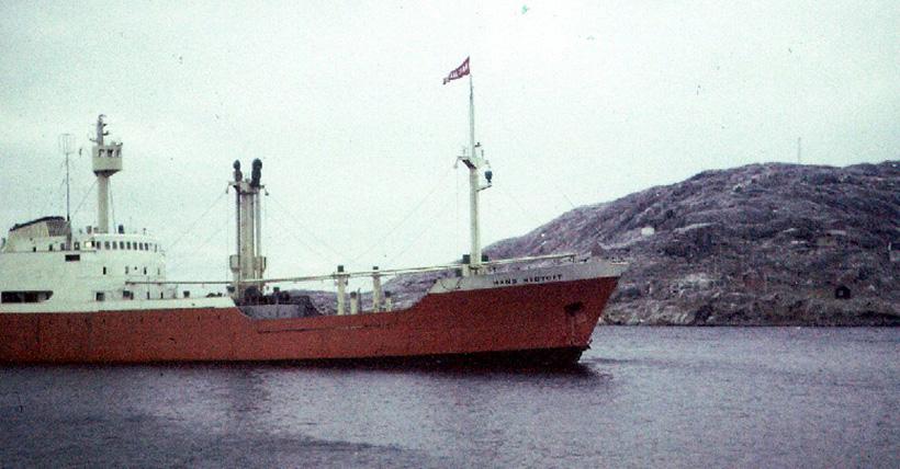 Загадка исчезновения жертвы айсбергов — судна «Ханс Хедтофт»