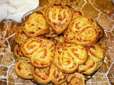 Оригинальное печенье-закуска…