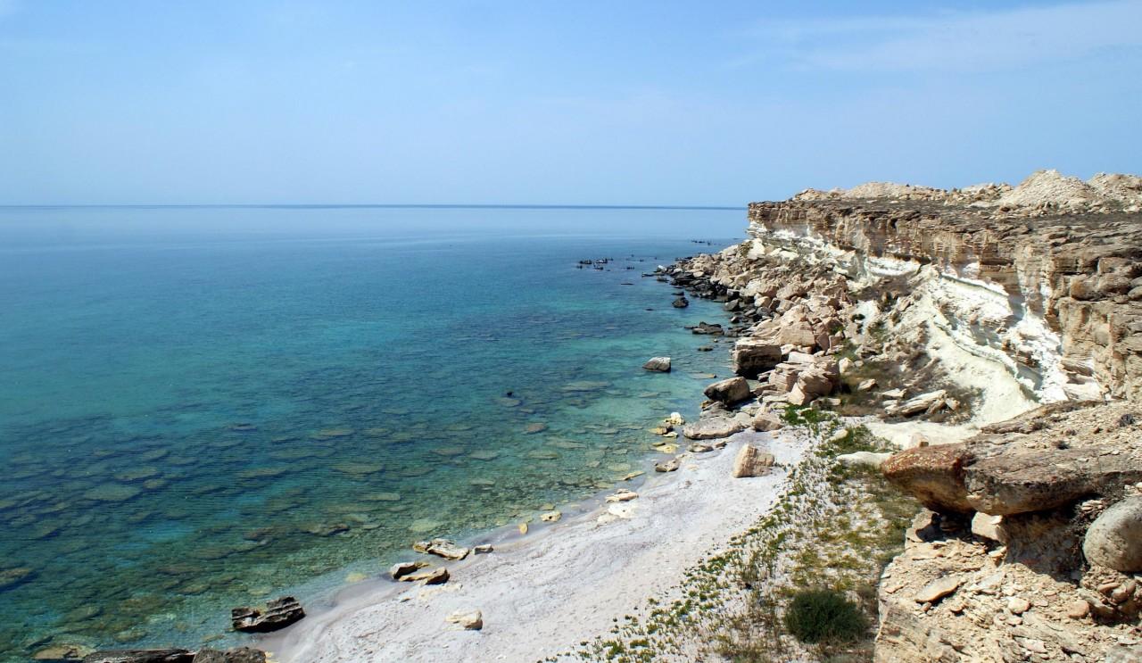 Каспий /Актау курорт, море, отпуск, россия