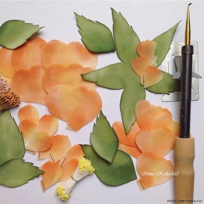 Цветы из шелка от Inna Rothschild (14) (700x700, 334Kb)