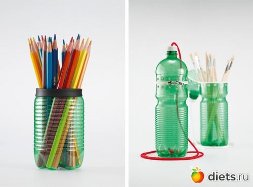 Стакан из бутылки пластиковой