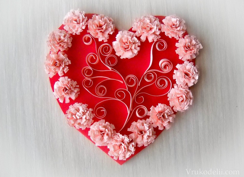 Как красиво сделать своими руками валентинку