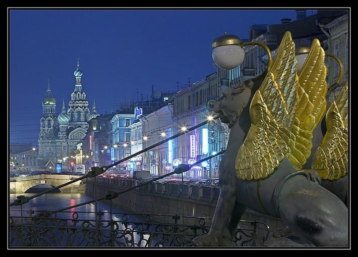 Санкт-Петербург в фотографиях Сергея Лукса (40 фото)