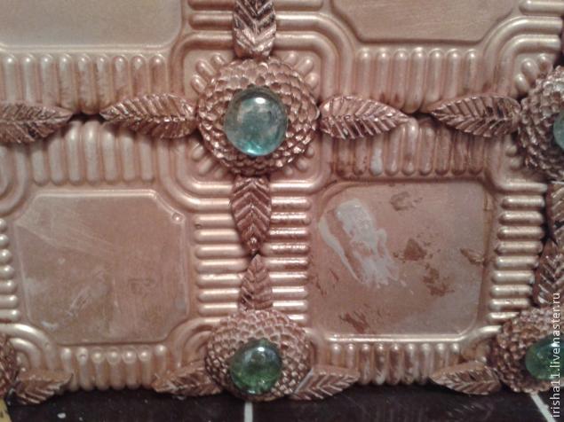 Цветочный фальш-камин из самодельных гипсовых плиток (14) (635x476, 212Kb)