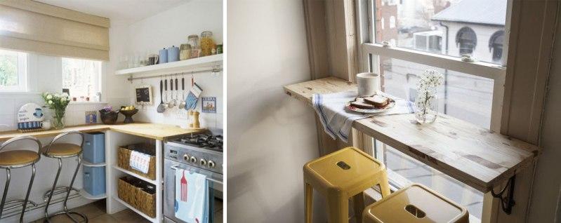 Дизайн маленькой кухни (5, 6, 7 кв м): решения для красоты и.