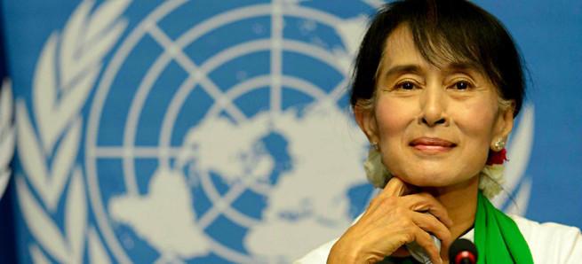 Ценности Запада: как лауреатка премии мира стала курировать геноцид