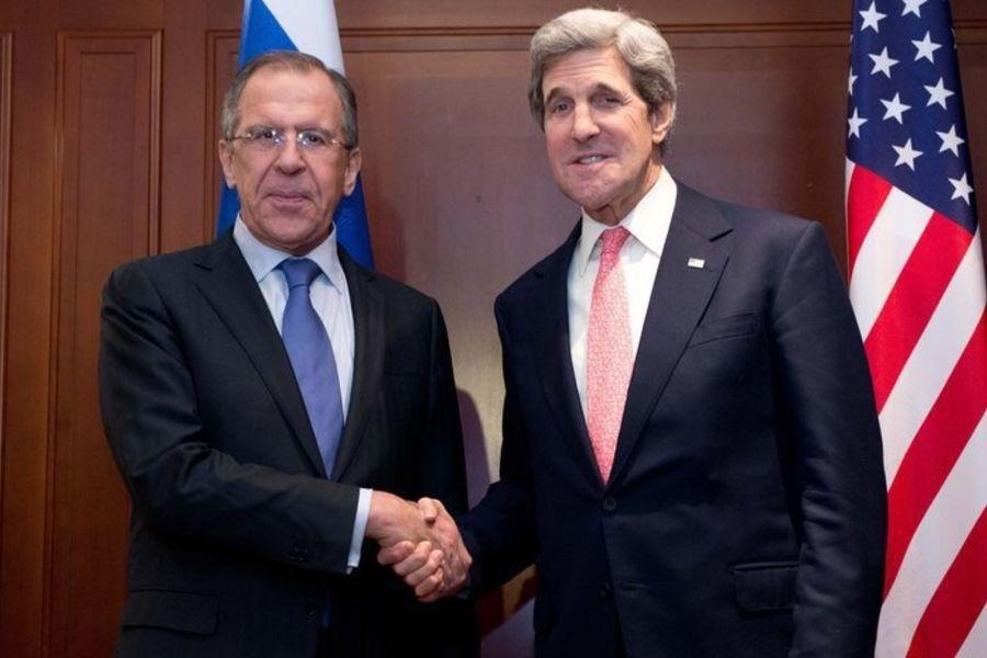 Лавров и Керри обсудили актуальные внешнеполитические проблемы