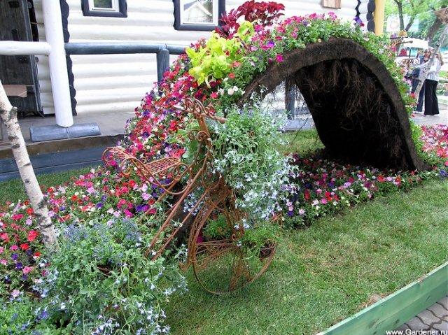 Еще несколько идеек для сада