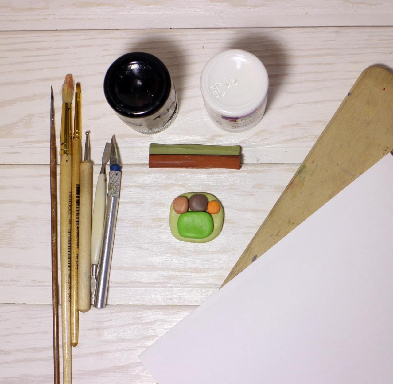Инструменты для полимерной глины