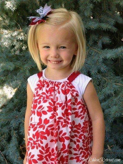 Платье для девочки, мастер класс. Одежда для детей своими руками