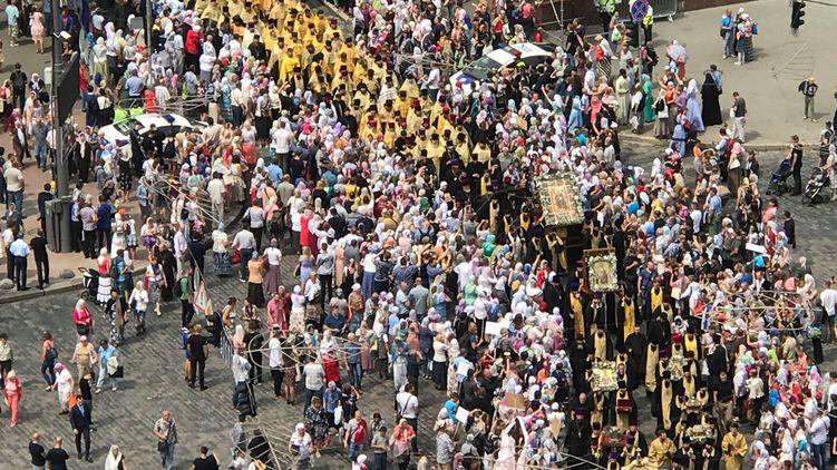 Как «Московский патриархат» в Киеве уложил на лопатки своих оппонентов