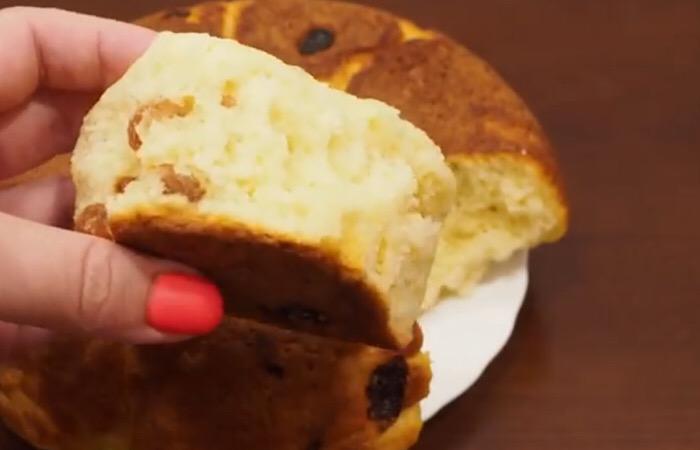 Готовим в мультиварке: пышные творожные булочки на скорую руку